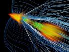 Antimatter catches a wave at SLAC