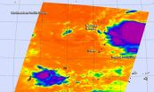 NASA gets infrared view of new Tropical Storm 20W