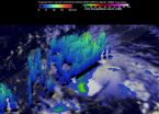 NASA measures rainfall in stronger Tropical Storm Ignacio