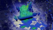 NASAs GPM satellite analyzes Tropical Storm Erikas rainfall
