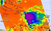 NASA sees Tropical Storm Erika dissipate near eastern Cuba