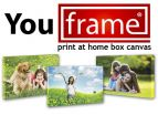 Snap it, Zap it, Print it and Frame it Goes Stateside. You Frame International Launches its Innovative Print-at-Home Photo Canvas Kits in the USA 3