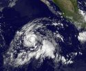 Two satellites see newborn Tropical Storm Jimena consolidating